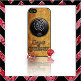 ★ CHOICE OF GAME OF THRONES ★ COVER/CASE FOR APPLE IPHONE 5  - Black Halo Design  - 7