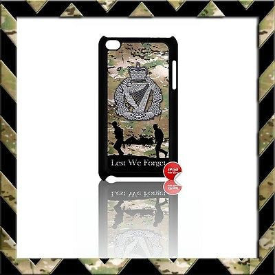 THE ROYAL IRISH REGIMENT RIR COVER/CASE FOR IPOD TOUCH 4/4TH GEN GENERATION 4G#4 - Black Halo Design