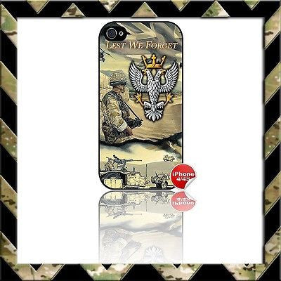 ★ THE MERCIAN REGIMENT (MERCS) ★ COVER FOR APPLE IPHONE 4/4S MERCIANS - Black Halo Design