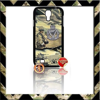 ★ THE ROYAL IRISH REGIMENT COVER FOR SAMSUNG GALAXY S4 S IV/I9500 CASE ARMY RIR - Black Halo Design