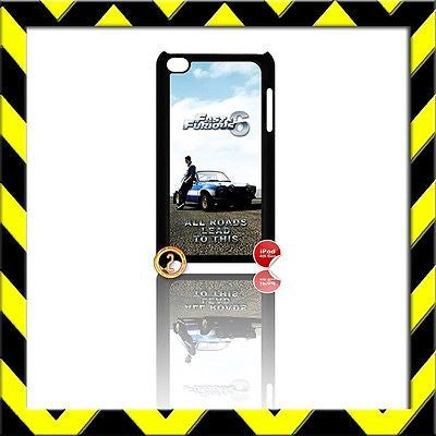 ★ FAST AND (&) FURIOUS ★ IPOD TOUCH 4/4TH GENERATION 4G HARD COVER ESCORT#2 - Black Halo Design