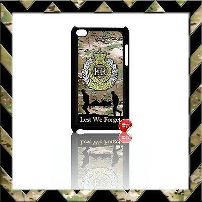 THE ROYAL ENGINEERS SAPPERS COVER/CASE FOR IPOD TOUCH 4/4TH GEN GENERATION 4G#7 - Black Halo Design