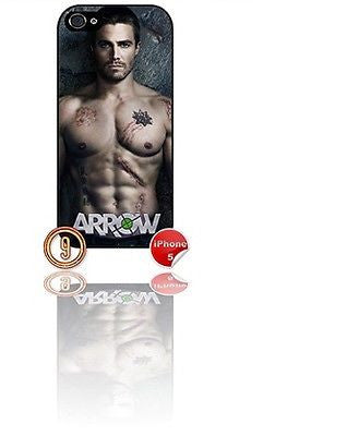 ★ ARROW DESIGN#9 ★ PHONE COVER FOR IPHONE 5 (CASE)GREEN#9 - Black Halo Design