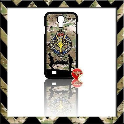 ★ THE WELSH GUARDS COVER FOR SAMSUNG GALAXY S4/S IV/I9500 CASE ARMY - Black Halo Design