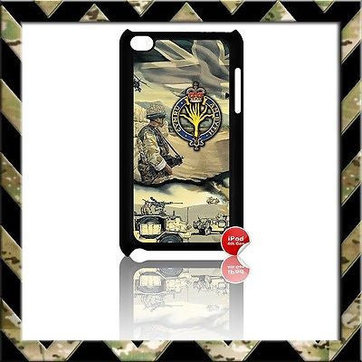 THE WELSH GUARDS COVER FOR IPOD TOUCH 4/4TH GEN GENERATION 4G AFGHANISTAN H4H - Black Halo Design