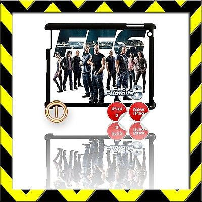 ★ FAST & FURIOUS 6 ★ SHELL/COVER FOR IPAD 2/3/4(3RD/4TH GEN) THE CREW #1 - Black Halo Design