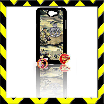 ★ THE ROYAL IRISH REGIMENT RIR ★ COVER FOR SAMSUNG GALAXY NOTE II/2/N7100 ARMY#5 - Black Halo Design
