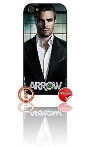 ★ ARROW DESIGN#5 ★ PHONE COVER FOR IPHONE 5/5S (CASE)GREEN#5 - Black Halo Design