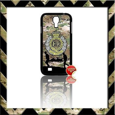 ★ THE ROYAL ENGINEERS (SAPPERS) COVER FOR SAMSUNG GALAXY S4/S IV/I9500 CASE ARMY - Black Halo Design