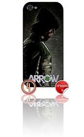 ★ ARROW DESIGN#4 ★ PHONE COVER FOR IPHONE 5/5S (CASE)GREEN#4 - Black Halo Design