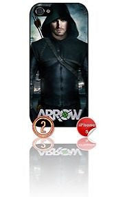 ★ ARROW DESIGN#2 ★ PHONE COVER FOR IPHONE 5/5S (CASE)GREEN#2 - Black Halo Design