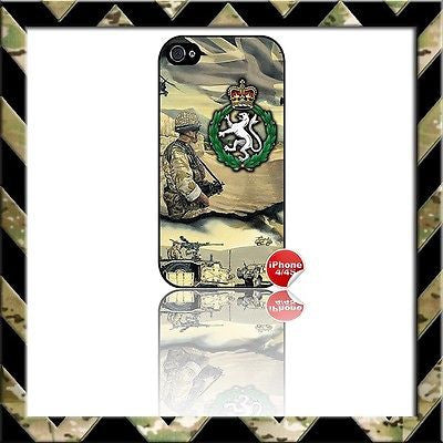 ★ WOMENS ROYAL ARMY CORPS (WRAC) ★ COVER FOR APPLE IPHONE 4/4S - Black Halo Design