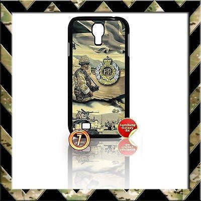 ★ THE ROYAL ENGINEERS COVER FOR SAMSUNG GALAXY S4 S IV/I9500 CASE ARMY SAPPERS#7 - Black Halo Design