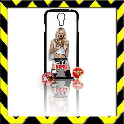 ★ THE BIG BANG THEORY COVER FOR SAMSUNG GALAXY S4 IV/I9500 PENNY (KALEY CUOCO)#3 - Black Halo Design