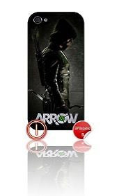 ★ ARROW DESIGN#1 ★ PHONE COVER FOR IPHONE 5/5S (CASE)GREEN#1 - Black Halo Design