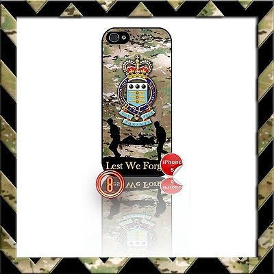 ★ ROYAL ARMY ORDNANCE CORPS ★ SHELL/CASE/COVER FOR IPHONE 5/5S (RAOC) CAMO#8 - Black Halo Design