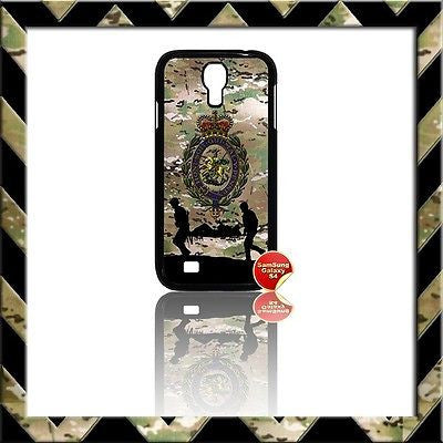 ★ THE ROYAL REGIMENT OF FUSILIERS COVER FOR SAMSUNG GALAXY S4/S IV/I9500 CASE - Black Halo Design