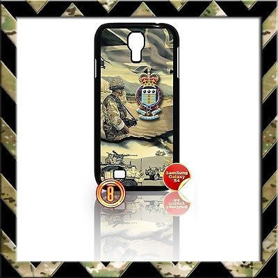 ★ THE RAOC COVER FOR SAMSUNG GALAXY S4 S IV/I9500 CASE ARMY #8 - Black Halo Design