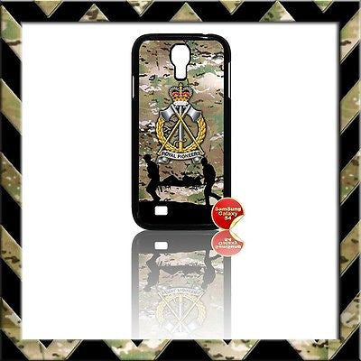 ★ THE ROYAL PIONEER CORPS (RPC) COVER FOR SAMSUNG GALAXY S4/S IV/I9500 CASE ARMY (PIONEERS) - Black Halo Design