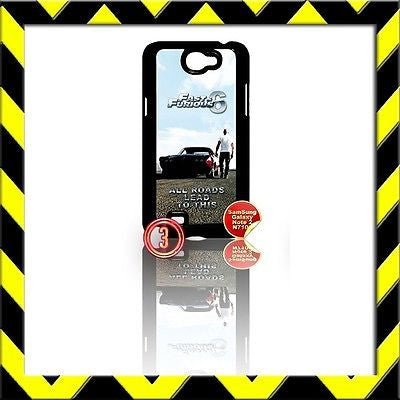 ★ FAST AND(&) FURIOUS 6 ★ COVER FOR SAMSUNG GALAXY NOTE II/2/N7100 VIN DIESEL#3 - Black Halo Design