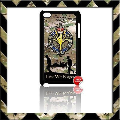 THE WELSH GUARDS COVER FOR IPOD TOUCH 4/4TH GEN GENERATION 4G H4H/CAMO - Black Halo Design