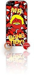 ★ MR BANG TIDY(KEITH LEMON)★ PHONE COVER FOR IPHONE 5/5S (CASE) GIRL CAMO#7 - Black Halo Design