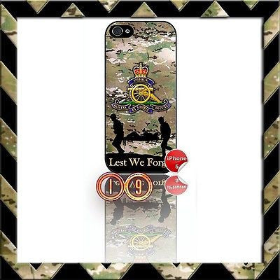 ★ THE ROYAL ARTILLERY ★ SHELL/CASE/COVER FOR IPHONE 5 (RA) CAMO#19 - Black Halo Design