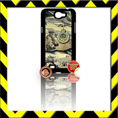 ★ THE ROYAL ENGINEERS (SAPPERS)★ COVER FOR SAMSUNG GALAXY NOTE II/2/N7100 ARMY#8 - Black Halo Design