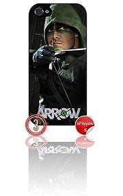 ★ ARROW DESIGN#3 ★ PHONE COVER FOR IPHONE 5/5S (CASE)GREEN#3 - Black Halo Design
