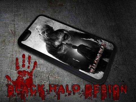 The Walking Dead: Zombie Case/Cover for choice of Apple iPhone 4-6s Plus