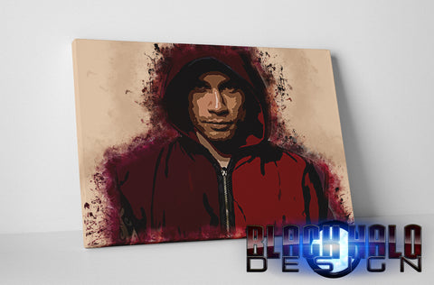 Carl Frampton: The Jackal Spatter Box Framed Canvas #CarlFrampton #TheJackal