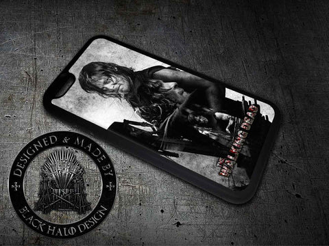 The Walking Dead: Daryl Dixon Case/Cover for choice of Apple iPhone 4-7 Plus