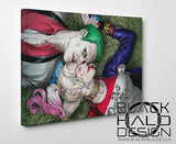 The Joker & Harley Quinn Box Framed Canvas #HarleyQuinn #SuicideSquad #Batman #DC #DaddysLilMonster