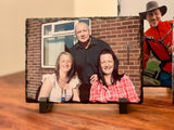 Personalised Rectangle Solid Rock Slates