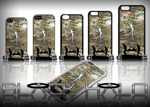 NEW The Royal Corps of Signals Case/Cover for choice of Apple iPhone 4-6s Plus :Army - Black Halo Design  - 1