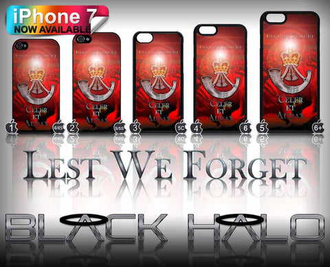 The Rifles: Lest we Forget Poppy Apple iPhone Case Cover 4-7 Plus
