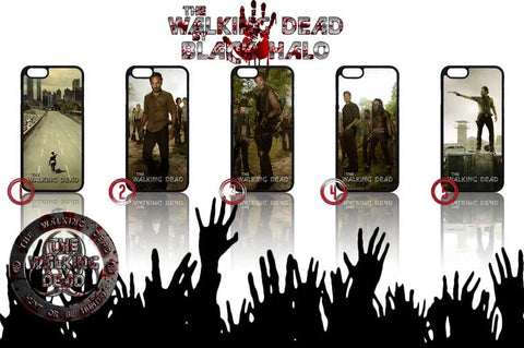THE WALKING DEAD APPLE IPHONE 6 SHELL CASE - Black Halo Design