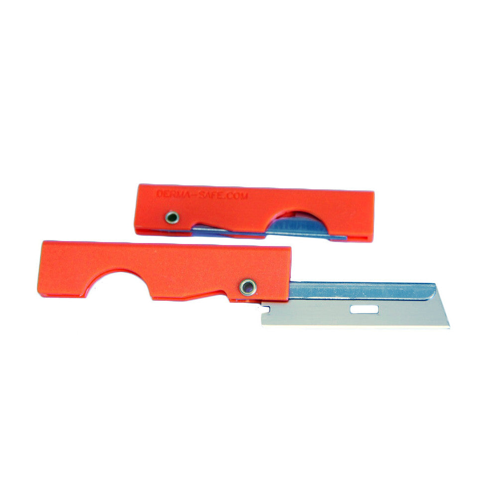 Derma-safe Folding Utility Knife - 2 Pack