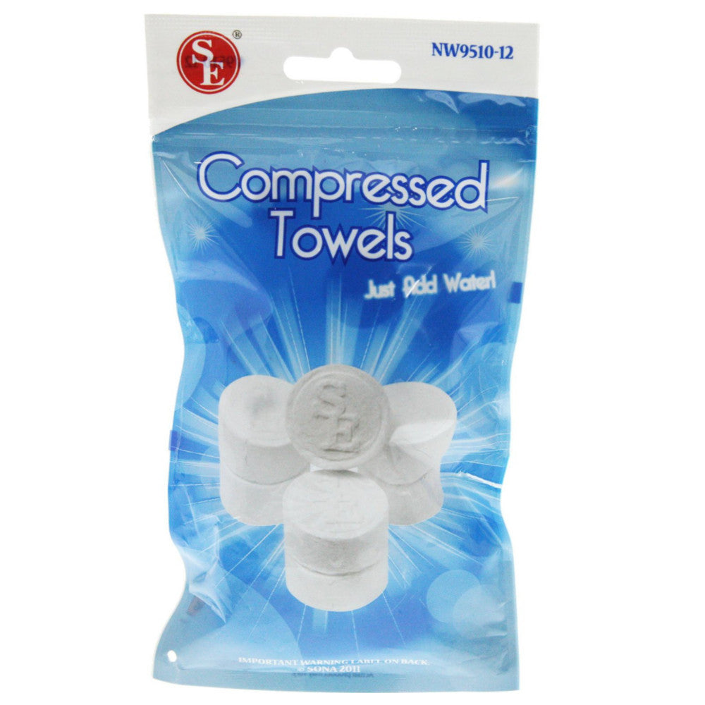 Compressed Towels