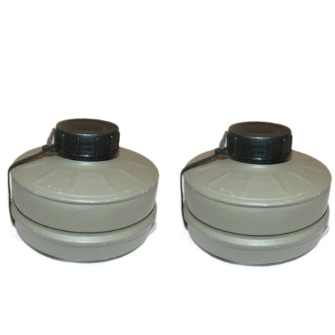 Type 80 Israeli Gas Mask Filter - Pack of 2