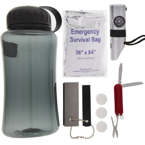 Survival Kit in Bottle