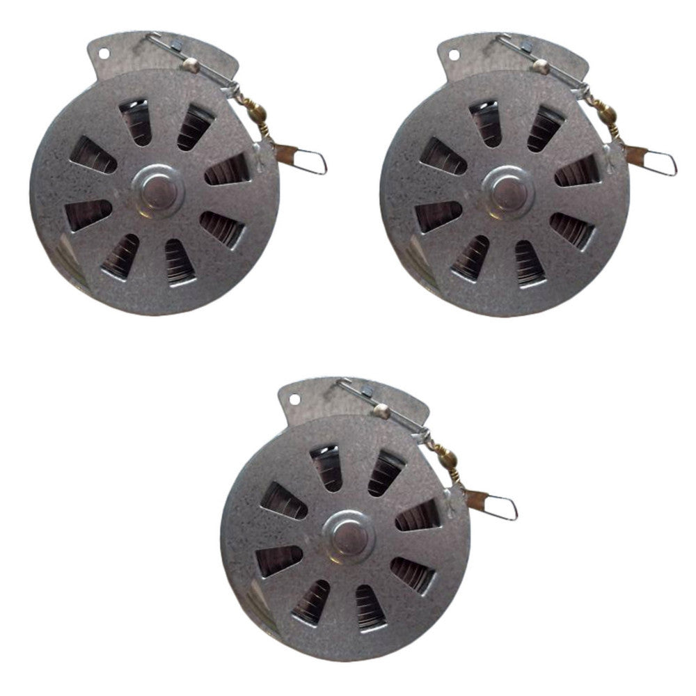 Whites Yo Yo Automatic Fishing Reel with Wire Trigger - 3 Pack
