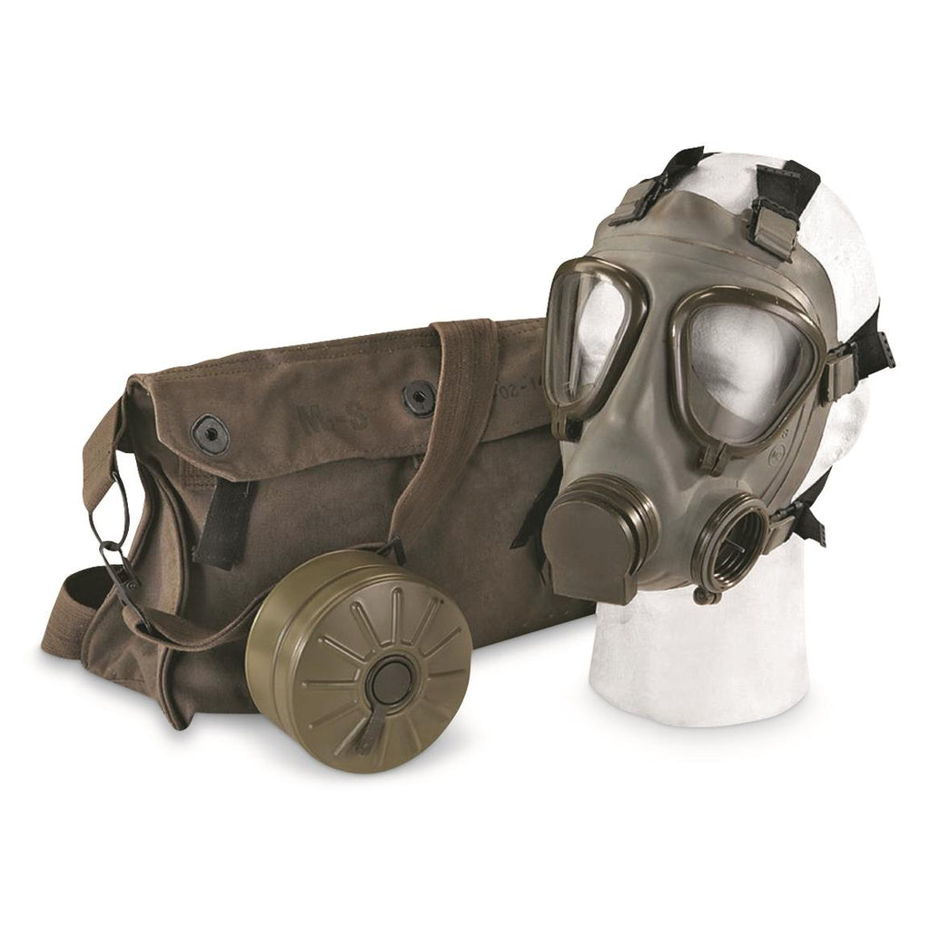 Serbian M2 Gas Mask