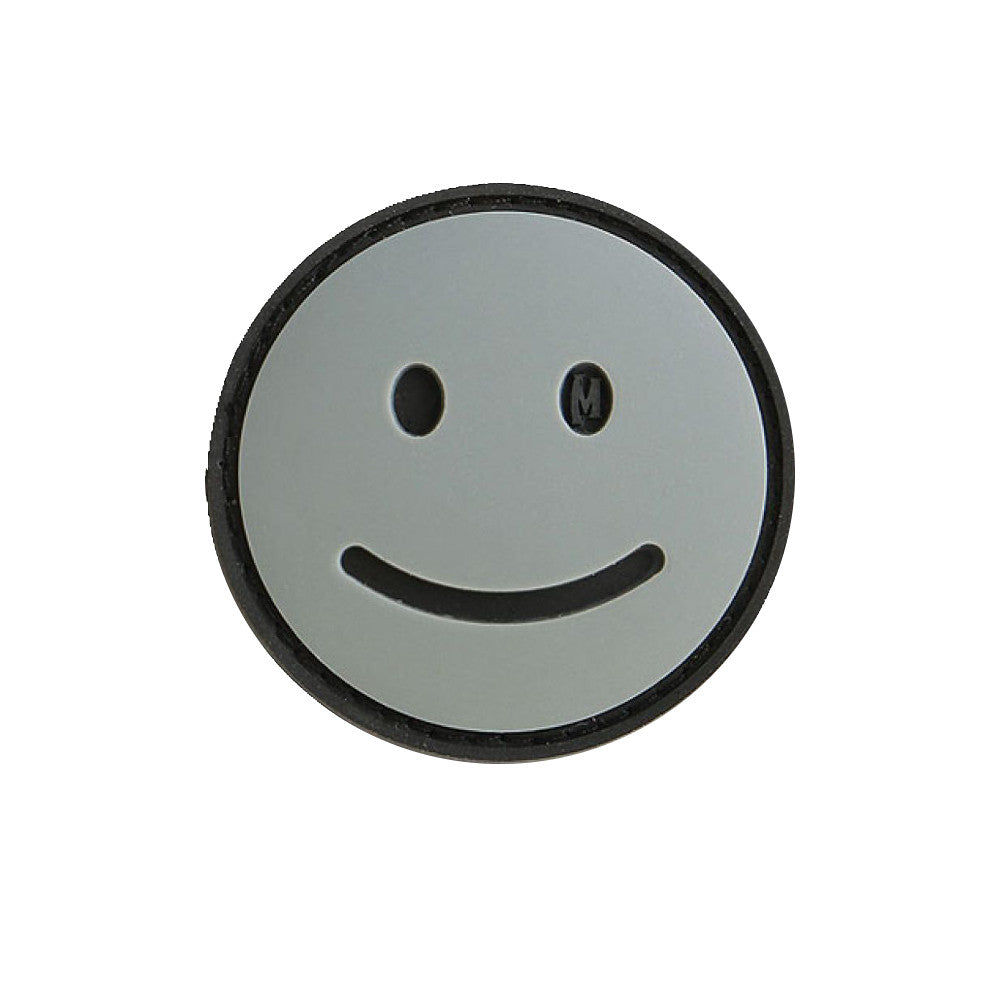 Happy Face PVC Morale Patch