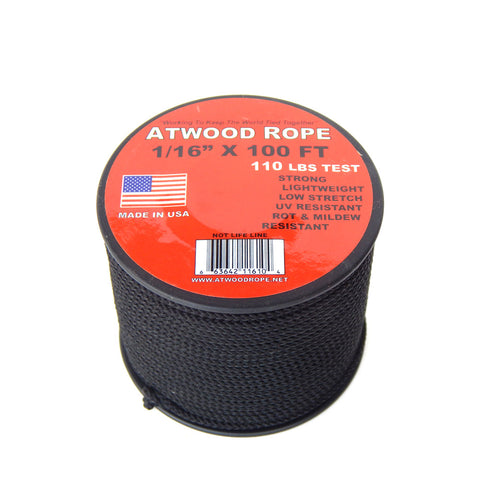Atwood Rope 1/16in Microcord - 100ft
