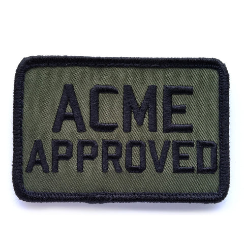 ACME Approved Velcro Patch