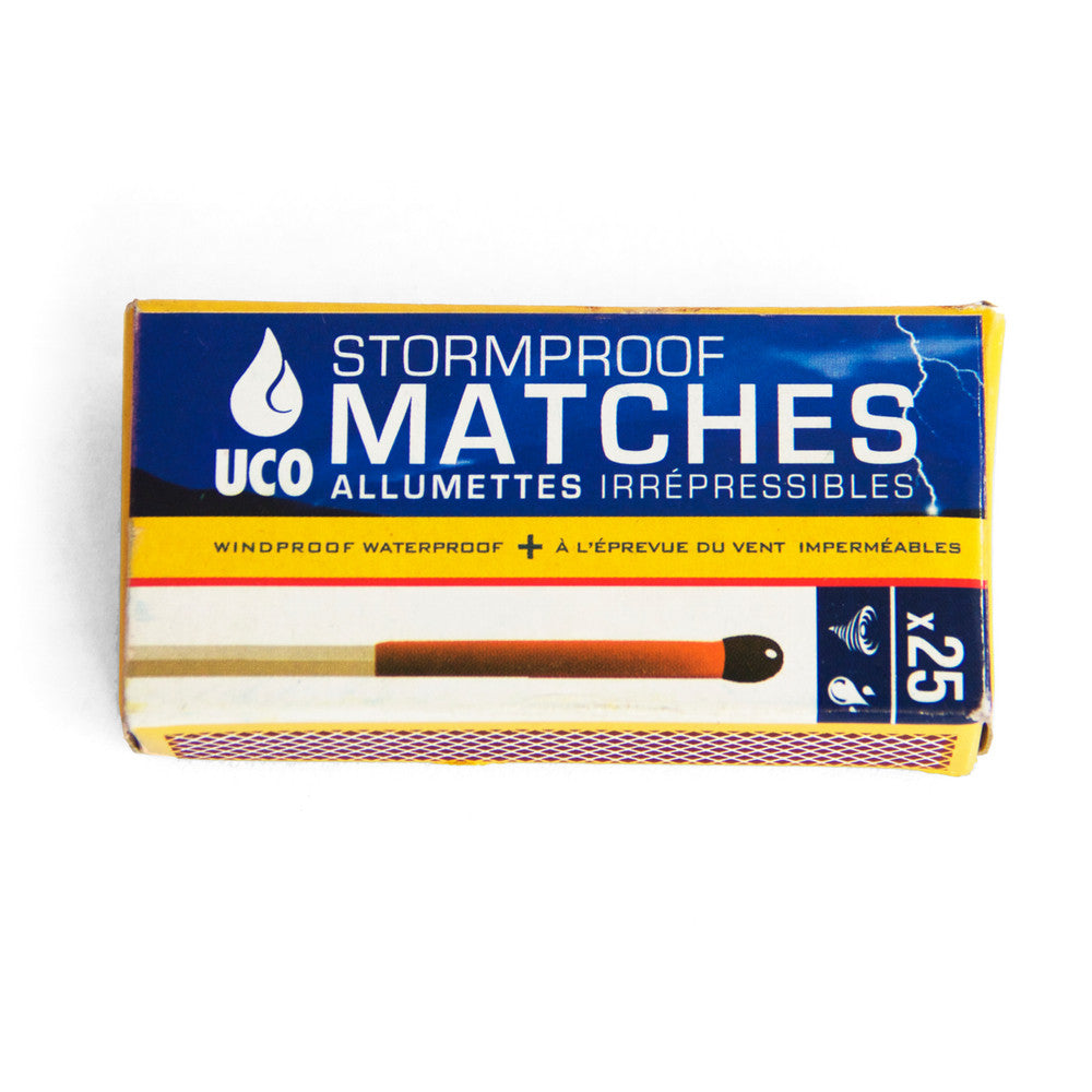UCO Stormproof Matches - 25 Matches