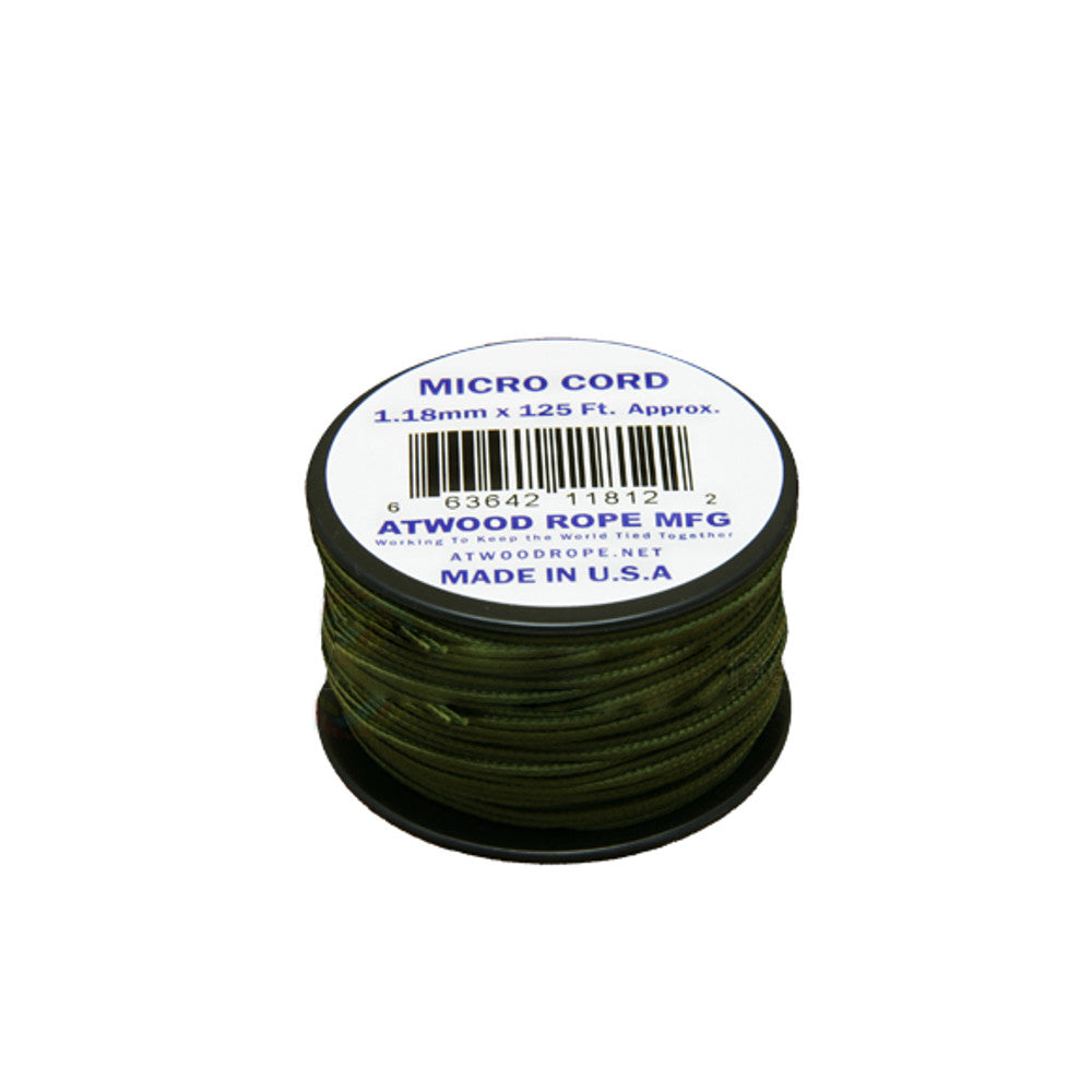 Atwood Rope 1.18mm Microcord 125ft spool