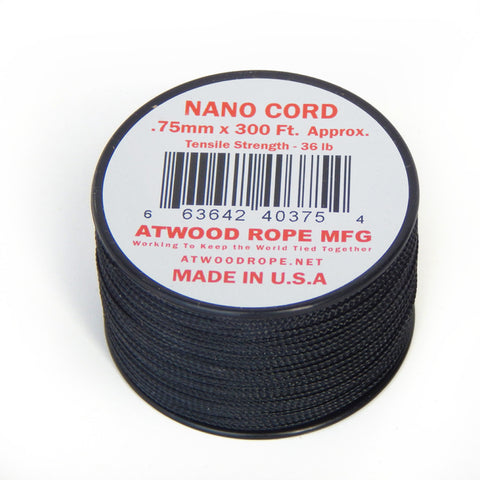 Atwood .75mm Nano Cord  - 300ft