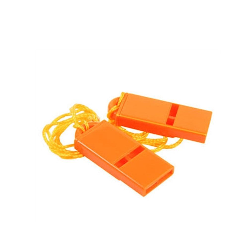 West Marine Flat Safety Whistles - 2 Pack